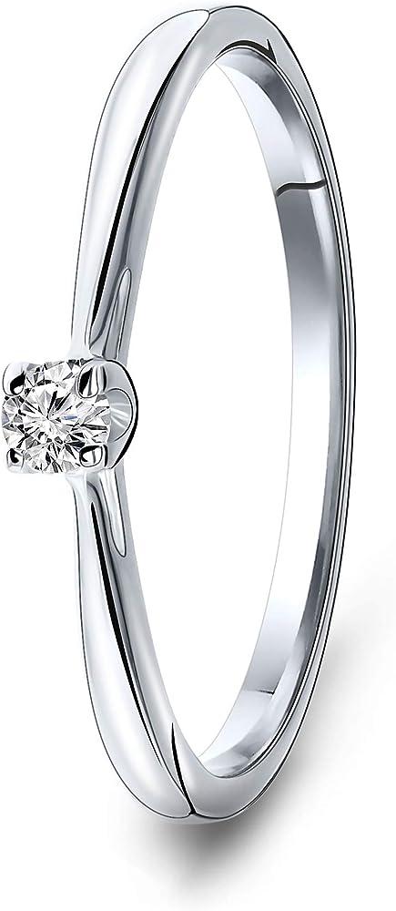 Miore anello per donna  9 carati / oro 375(1,37 gr) MAC025R50