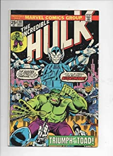 HULK #191, VG+, Incredible, Bruce Banner, Toad, Trimpe, 1968, more in store