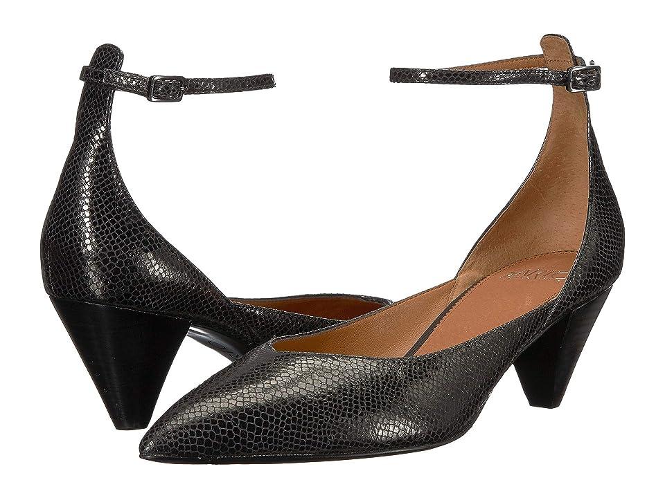 Franco Sarto Coralie (Black Scorpion Metallic Leather) Women