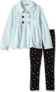 Calvin Klein Baby Girls 2 Pieces Jacket Set,