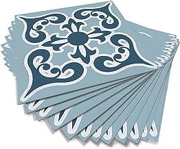 Alwayspon Schil en plak vloertegels, stok op vloertegels, Vinyl vloer kleverige rug sticker, antislip vloertegels zelfklev...
