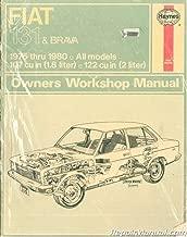 UH310 Used Haynes Fiat 131 Brava 1975-1980 Auto Repair Manual