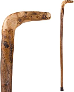Walking Cane for Men and Women Handcrafted of Lightweight Wood and made in the USA,   Wood, 37 Inches