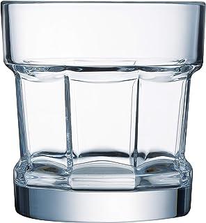 Arcoroc ARC L4253 Tribeka Whiskyglas, 350ml, Glas, transparent, 6 Stück