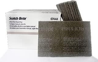 3M 7448/07448 (1/2 Box - 10 pads) Scotch Brite Ultra Fine Hand Sanding Scuffing