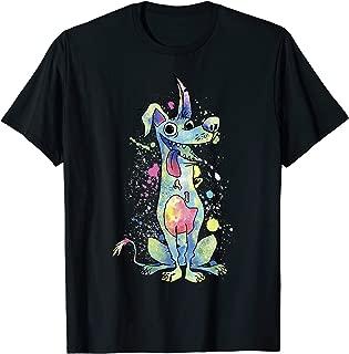 Disney Pixar Coco Dante Watercolor Splatter Graphic T-Shirt
