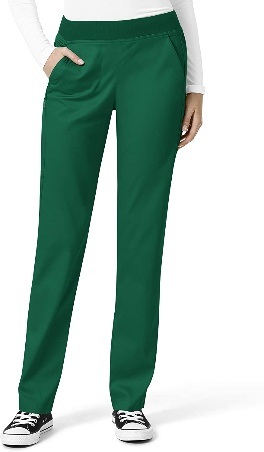 WonderWink Inventory cleanup selling sale PRO Women's Knit Waist X-La Hunter Scrub Cargo SEAL limited product Pant