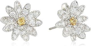 SWAROVSKI Women's Eternal Flower Crystal Earrings and Bracelet Jewelry Collection