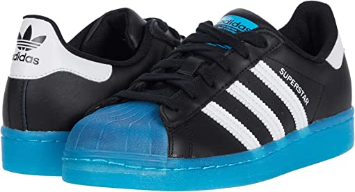 Core Black/Footwear White/Signal Cyan