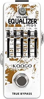 Koogo 5-Band EQ Pedal Equalizer Guitar Effects Pedal