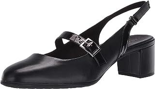 حذاء حريمي من Aravon Women's Career Dress MJ، أسود معدني، 6. 5 US Medium