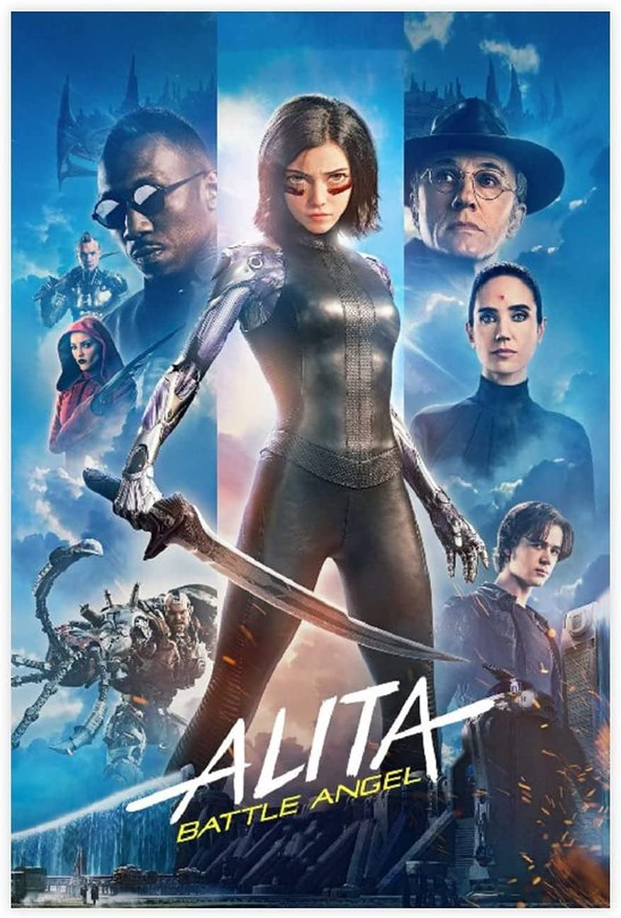 Most Popular Posters Alita Battle depot Angel Canvas Movie Poster P 15 Cheap mail order sales