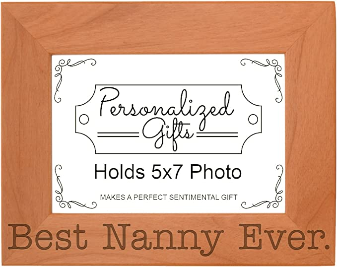 Photo Frame Grandma is the best for a picture 10x15 CM in 2 styles Gift idea