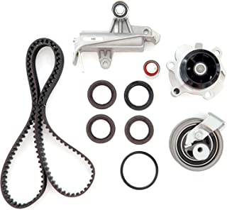 Timing Belt Water Pump Kit, ECCPP Replacement fit for 2001-2006 Volkswagen Passat Audi A4 Quattro 1.8L DOHC Eng. Code AMB AWM