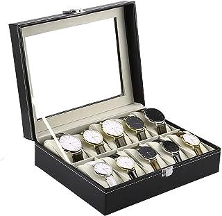 Styleys Wrist Watch Organizer case kit -10 Pcs Watch Box
