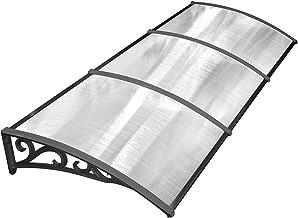 Garage pour tondeuse /à gazon Robot polycarbonate Protection Pluie Auvent 103 x 77 x 45,5 cm LARS360 Carport pour les tondeuses /à gazon robotis/ées