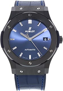 Hublot - Classic Fusion - Reloj de pulsera para hombre (cerámica, 45 mm), color azul