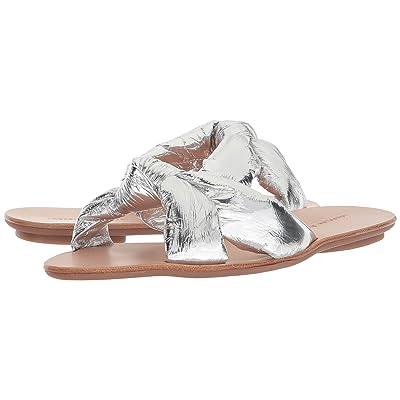 Loeffler Randall Iris (Silver Metallic Foiled Leather) Women