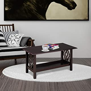 @home By Nilkamal Patty Center Table (Dark Cappuccino)