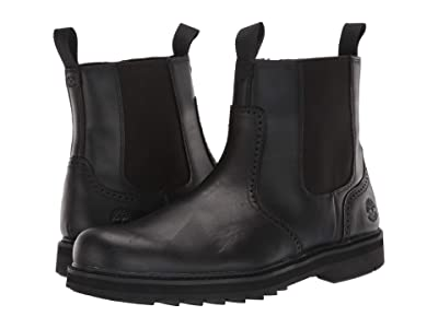 Timberland Squall Canyon Waterproof Side Zip Chelsea (Black Full-Grain) Men