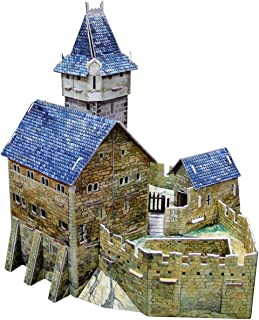 Clever Paper Hunting Castle with Figures