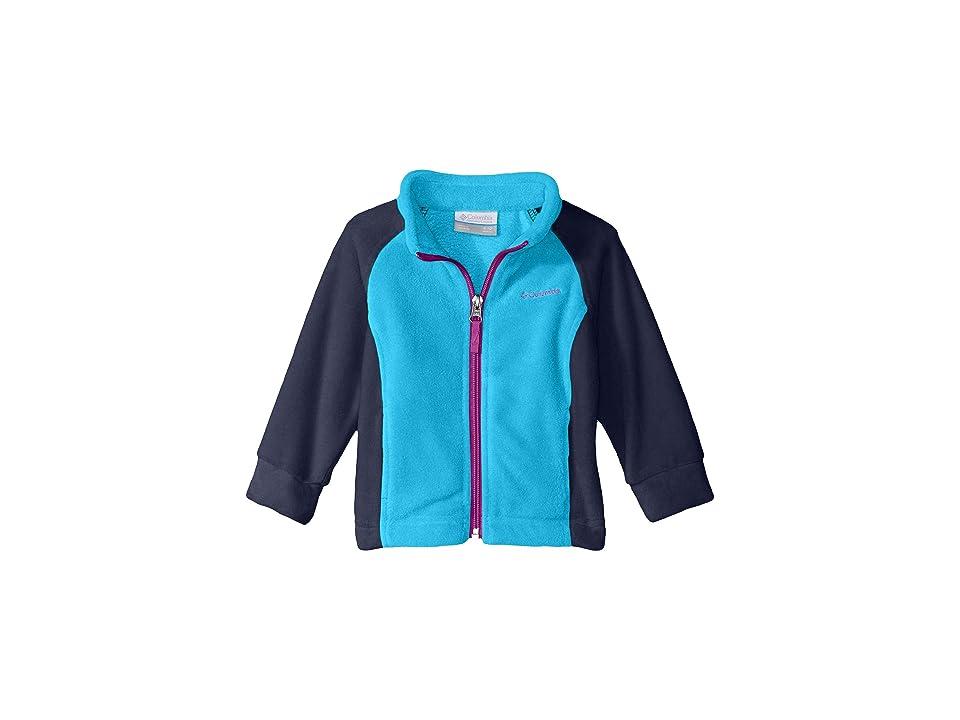 Image of Columbia Kids Benton Springstm Fleece (Infant) (Atoll/Nocturnal/Bright Plum) Girl's Fleece