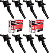 MAS Ignition Coils DG508 and Spark Plugs SP493(set of 8)