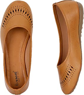 YAHE Latest Collection, Comfortable & Fashionable Ballet Flats Shoes for Womens and Girls Y-73