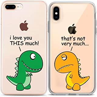 90dd8f8842 Lex Altern Couple iPhone Case Cute Dinosaur Xs Max X Xr 10 8 Plus 7 6s