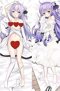 HJML Azur Lane HMS Unicorn n Anime Body Pillow Case (19.6×59in) Hug Pillowcover Long Hugging Pillowcase Manga Soft Plush Cushion Cover