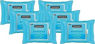 Neutrogena Hydro Boost Aqua Reinigingsdoekjes, Make-Updoekjes Voor Normale, Gevoelige En Droge Huid (6 x 25 Stuks)