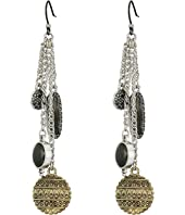 Lucky Brand - Floral Charm Earrings