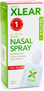 Xlear Natural Nasal Spray With Xylitol, 0.75 Fluid Ounce