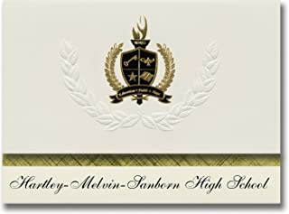 IahartleySchool Melvin Hartley Sanborn High Graduation Aq543RjL