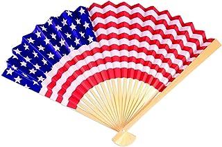 Forum Novelties Patriotic Paper Fan