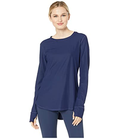 Tommy Bahama Active Long Sleeve Relaxed Tee (Mare Navy) Women