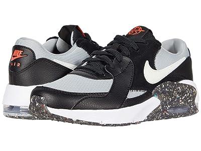 Nike Kids Air Max Excee MTF (Big Kid) (Black/White/Light Smoke Grey/Bright Crimson) Kid