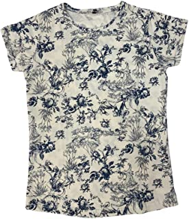 Veronica Ladies Blouse Khaki floral printed