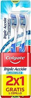 Colgate Cepillo Dental Triple Acción Blancura Medio