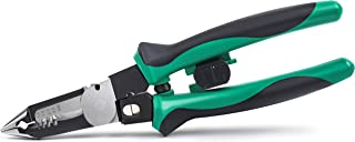 Wire Stripper Plier, Flytuo 7-in-1 Multi-function Wire Stripper, Crimper and Cable Cutter, Professional Electrical Combi P...