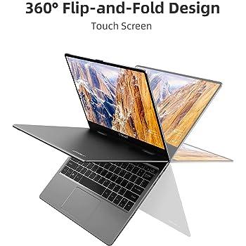 Pc portatile Convertibile TECLAST F5 Ultrabook da 11.6 pollici 8 GB di RAM, 256 GB SSD, HD 1920x1080 Touch screen, Processore Intel N4100, Windows 10, Dual-Band WiFi, Bluetooth 4.2