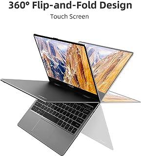 TECLAST F5 Ordenador Portátil con Pantalla Táctil 11.6 Pulgadas Ultrabook 360° Convertible, 8GB RAM 256GB SSD , 1920x1080 IPS, Intel N4100 Windows 10, WiFi, Bluetooth 4.2, Cuerpo Totalmente Metálico