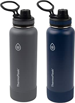 No Sweating Insulated Bottle BPA Free Vacuum Flask Double Walled Reusable 500ml Bottles Zeusworks Stainless Steel Water Bottle Travel Leakproof Metal Water Bottle for Kids Hot for 12 Hrs Keeps Cold for 24+ Hrs Gym Sports