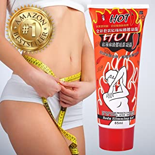 Slimming Hot Cream Anti Cellulite Treatment Cream – Skin Tightening Cream Firming for Full Body Massager Fast Burning Fat – HOT Chilli Gel Cream for Weight Loss (1-NEW-HOT-CREAM)