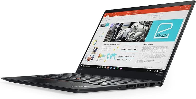 Lenovo 20HR002MGE 35 5 cm 14 0 Zoll ThinkPad X1 Carbon G5 Laptop Intel Core i7-7500U 16GB RAM Intel HD Graphics 620 Win 10 Pro schwarz Schätzpreis : 1.899,00 €