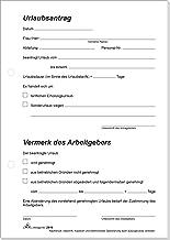 Urlaubsantrag Vorlage Formlos Inhalt Genehmigung 5
