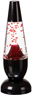 Funtime Gifts LED Mini Lava Volcano Lamp, Integrated, 4.5 W, Red
