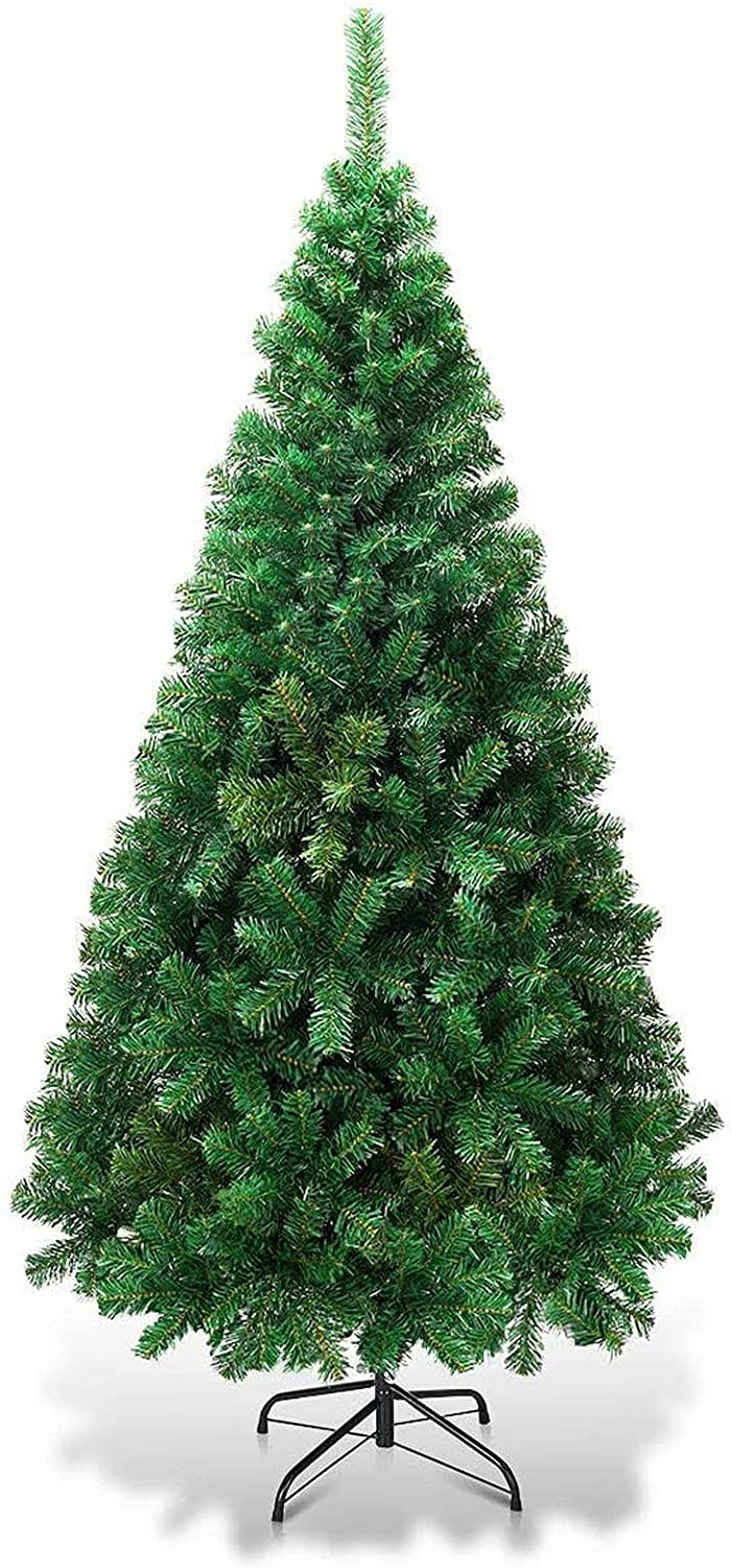 Jin-Siu Christmas Pine Tree mart with Long Beach Mall Stand Ch Metal Solid Artificial