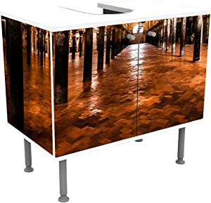 wandmotiv24 Bathroom cabinet The Great Mosque, Cordoba, Spain Design cabinet bathroom M0814Vanity cabinet Front & side pasting