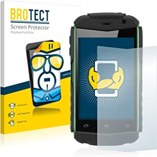 BROTECT Protector Pantalla Compatible con Doogee Titans DG150 Protector Transparente (2 Unidades) Anti-Huellas